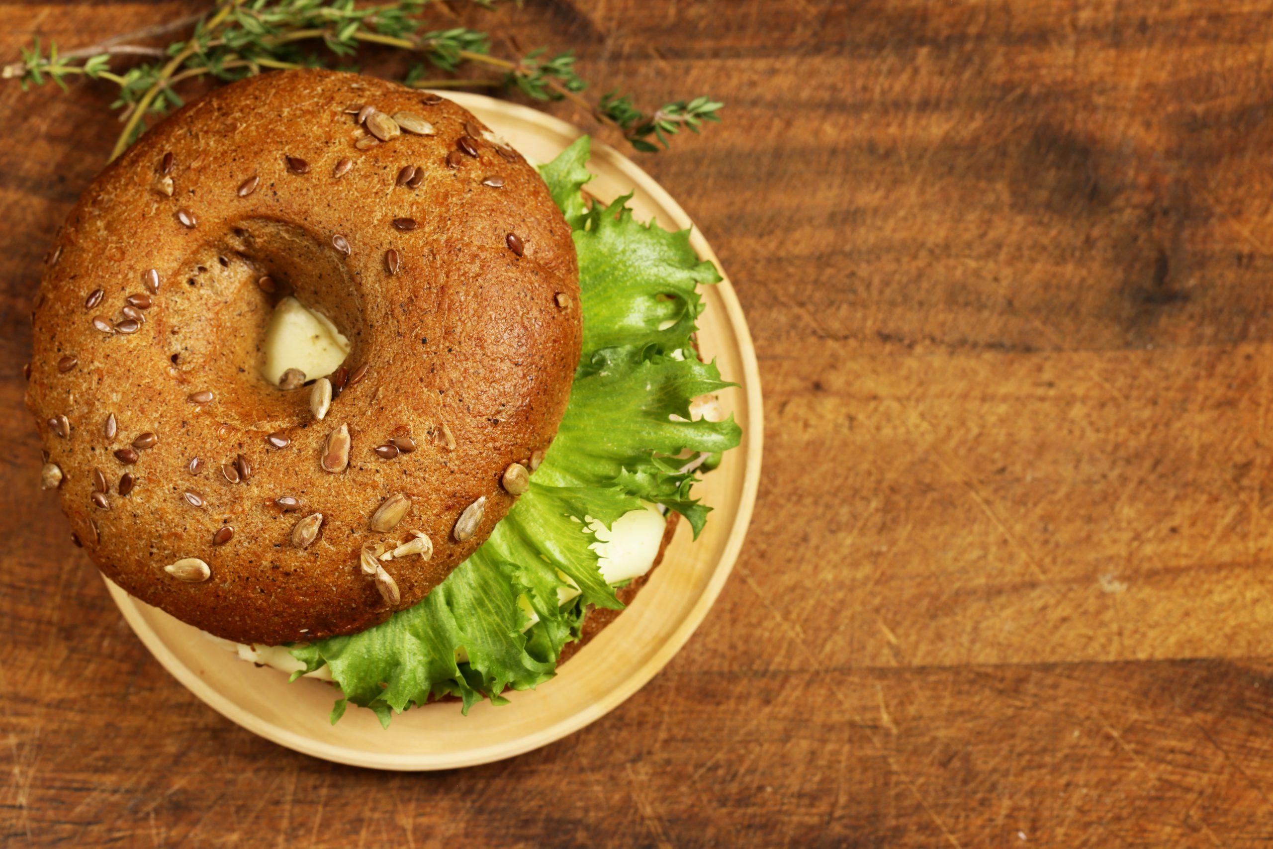 La recette du bagel aux légumes