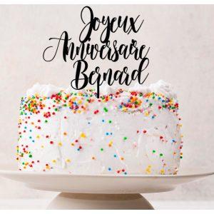 Réussir la plus belle décoration d'un gâteau d'anniversaire